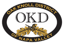 OAK KNOLL DISTRICT OF NAPA VALLEY